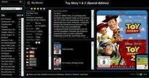 Browser Screenshot MyMovies Online