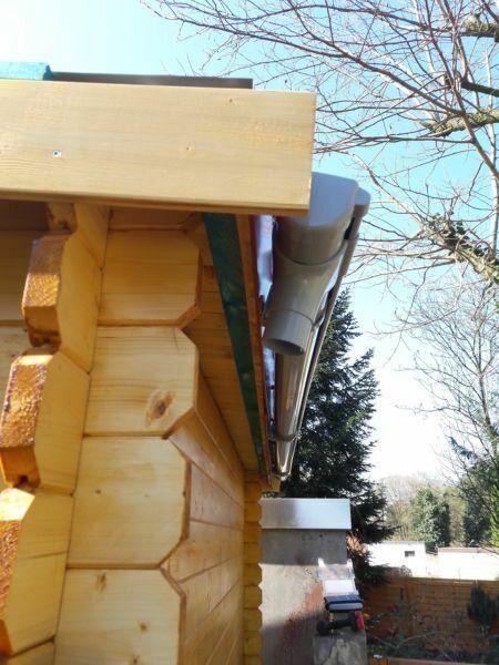 Dacheindeckung02 Gartenhaus