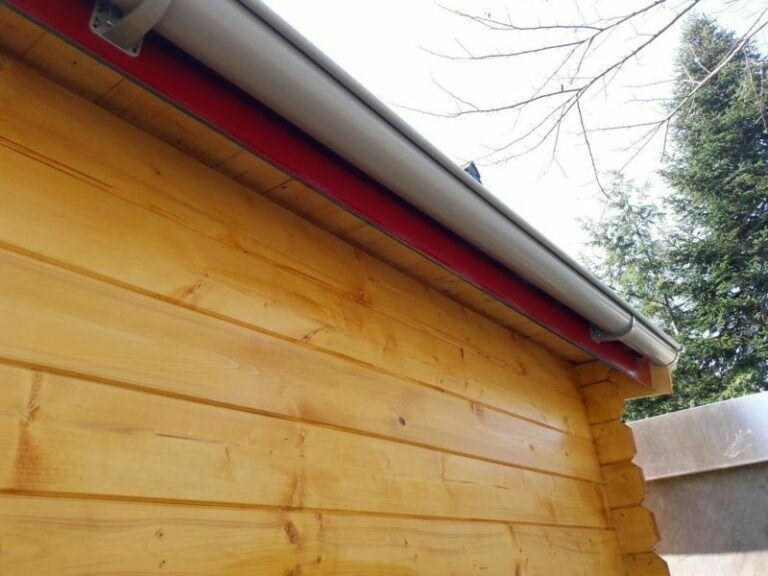 Dacheindeckung04 Gartenhaus