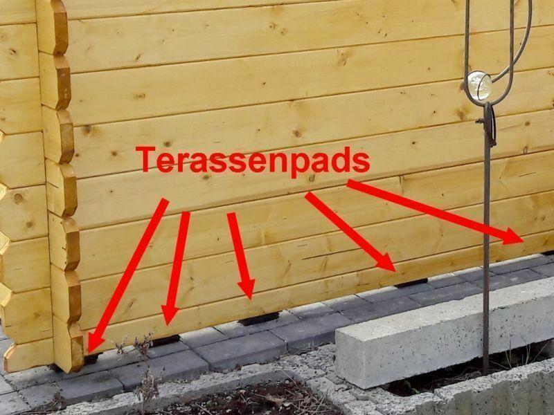 Gartenhaus Aufbau Dach Eindecken Elektroinstallation Und Anschluss