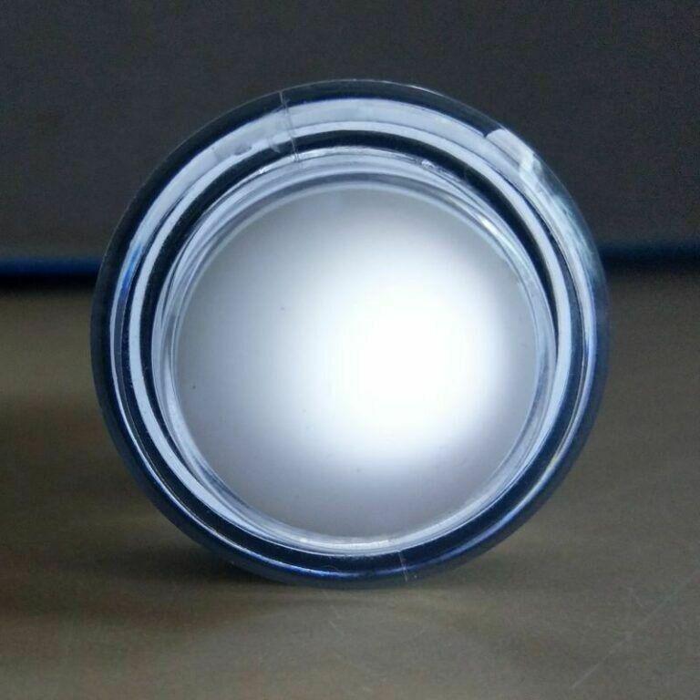 Weißer Button