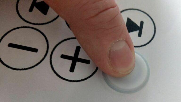 Button Symbol ausschneiden