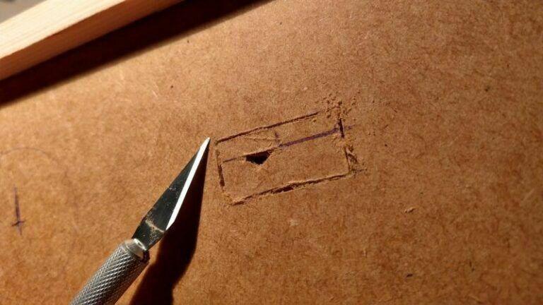 das Material lässt sich hervorragend schneiden
