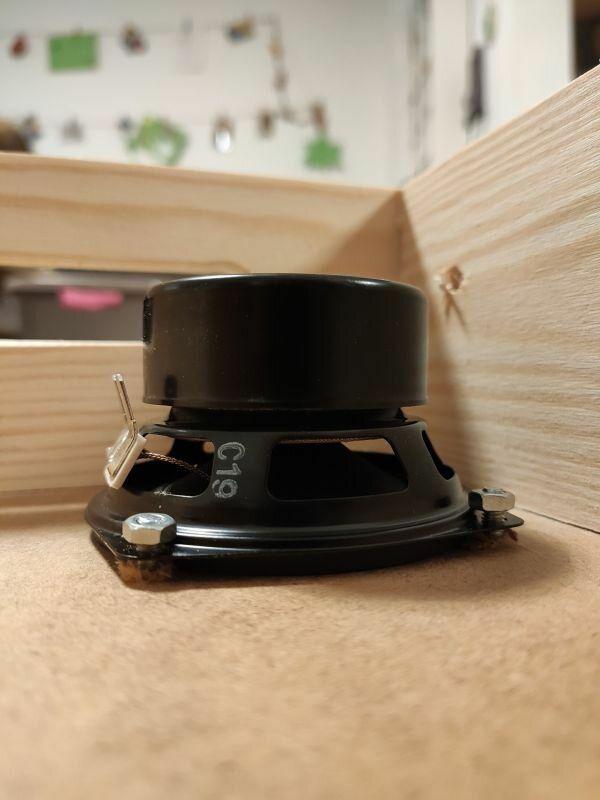 Einbau Visatron Lautsprecher