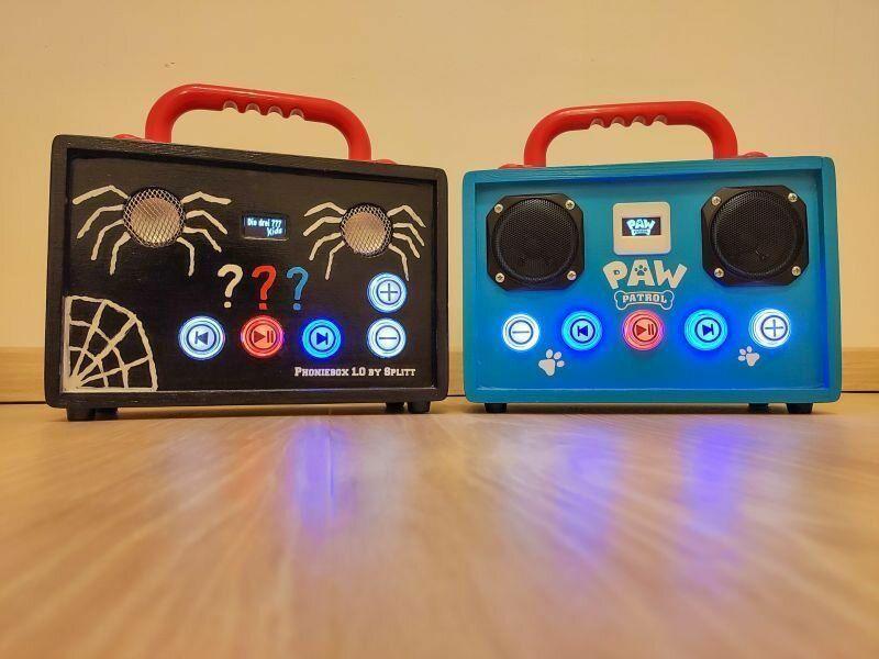 Vergleich der beiden Phonieboxen