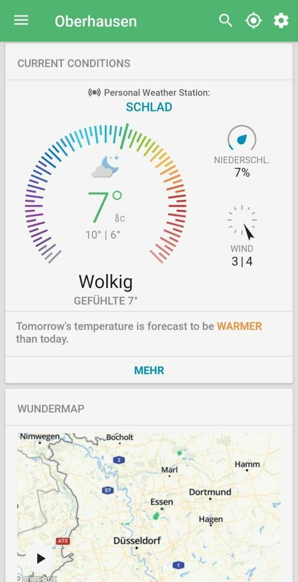 Wunderground App