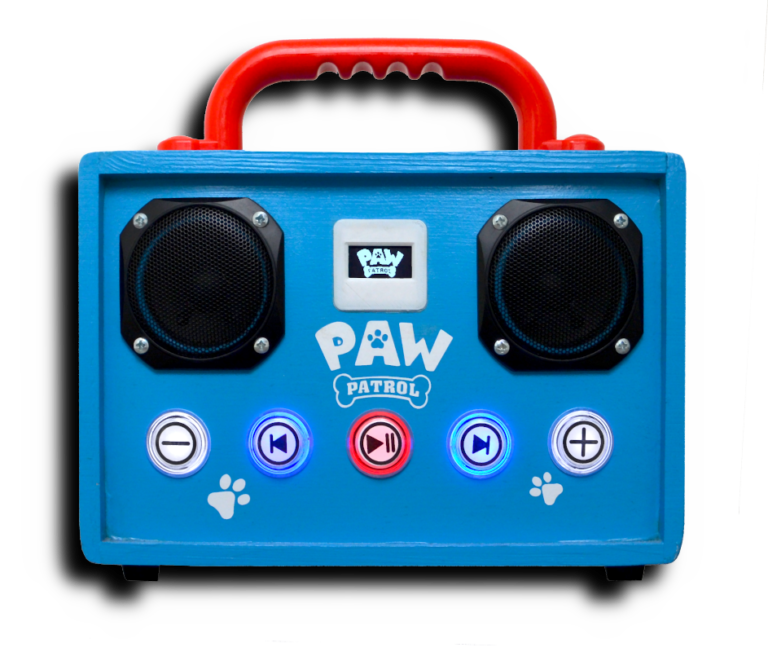 Schnellere Boot-Time mit Paw Patrol Logo im Display - Phoniebox Paw Patrol Style
