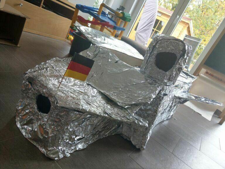 Raumschiff selber bauen