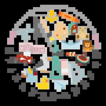 Logo vom Spielzeughafen