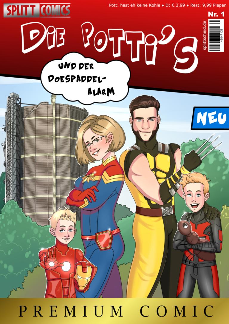 Selfmade Comic Cover