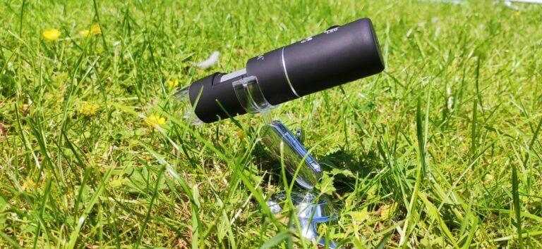 Mikroskop in Arbeit Mikroskop